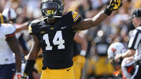CB: Desmond King, Iowa