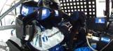 CUP: Jeff Gordon Seat Belt Issues – Pocono 2016