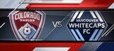 Colorado Rapids vs. Vancouver Whitecaps | 2016 MLS Highlights