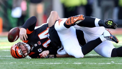 Sunday: Bengals at Ravens
