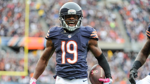 Eddie Royal, WR, Bears (toe): out