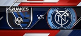 San Jose Earthquakes vs. New York City FC | 2016 MLS Highlights