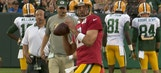Aaron Rodgers was dropping dimes at Packers family night