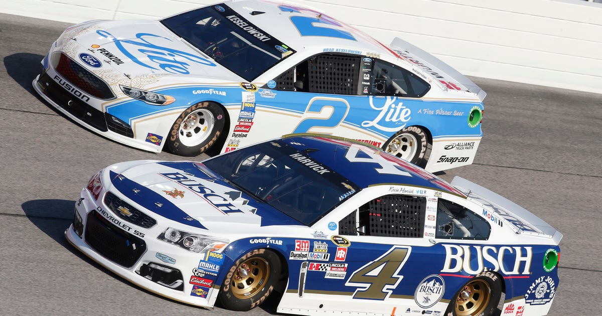 Iconic beer-sponsored cars in NASCAR through the years   FOX Sports