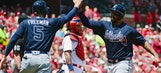 Braves LIVE To Go: Bats get going early to help Atlanta capture series win in St. Louis