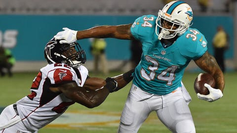 Arian Foster, RB, Dolphins (hamstring): Active