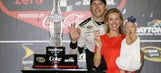 NASCAR community congratulates newlyweds Brad Keselowski and Paige White