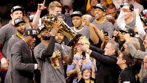 2016: Cavaliers beat Warriors