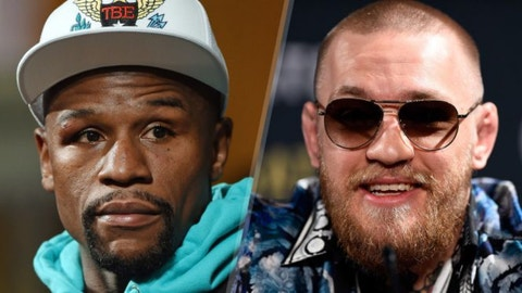 VIDEO: Floyd promises to fight more aggressively against McGregor, Skip thinks he'll 'go to the hospital' if he does