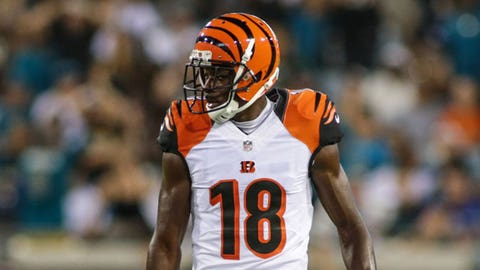 A.J. Green on what it feels like to tie