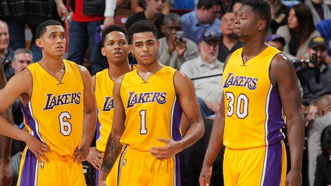 Los Angeles Lakers (16): 7-5