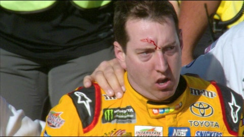 Las Vegas 2017 -- Kyle Busch and Joey Logano