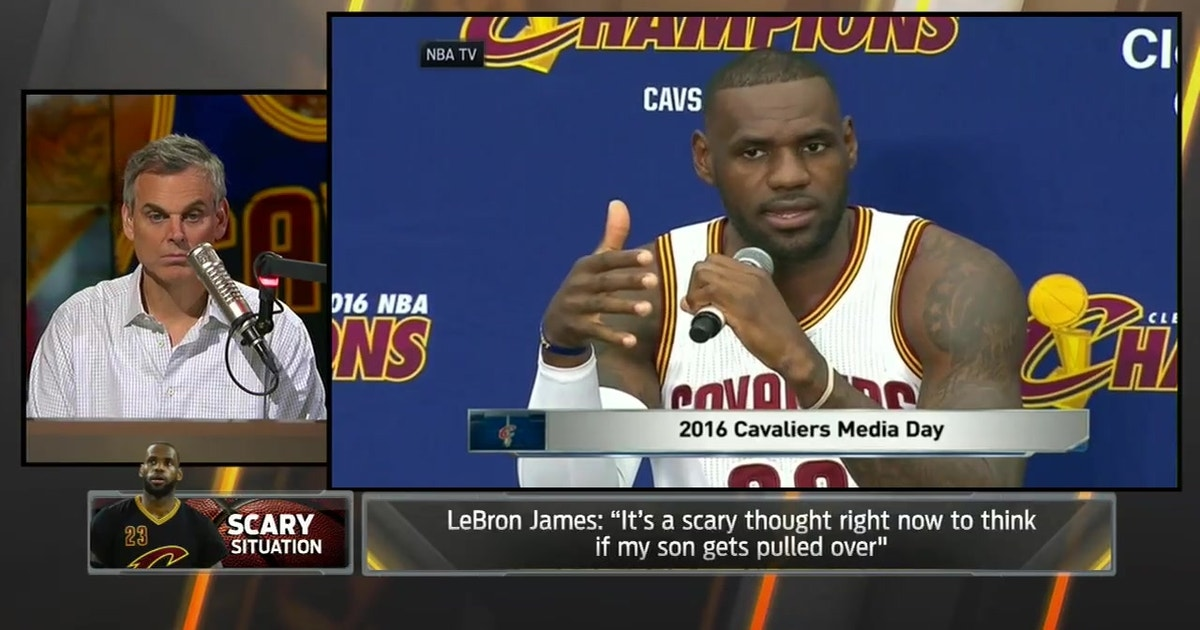 99658fabf658 LeBron   It s a scary thought right now to think if my son gets pulled over   -  The Herd
