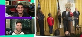 President Obama welcomes US Olympians to White House – 'TMZ Sports'