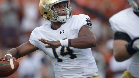 Navy at Notre Dame (-6.5)