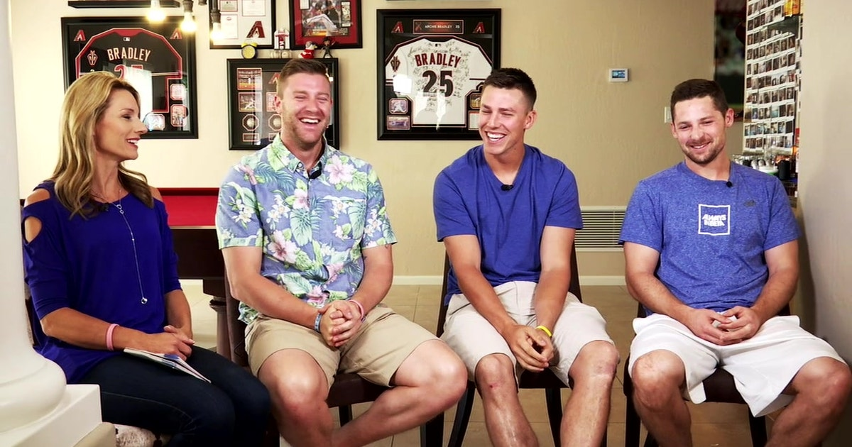 Archie Bradley S Home Tour The Roommates Fox Sports