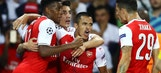Alexis Sanchez gets late equalizer for Arsenal | 2016-17 UEFA Champions League Highlights
