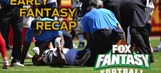 Fantasy Best and Worst: Week 1 Early Kickoffs