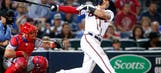 Braves LIVE To Go: Freeman's streaks end, but Braves finish sweep of Phillies