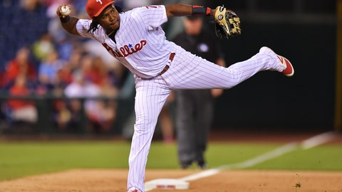 Maikel Franco will be the best third baseman outside of the big four (Arenado, Bryant, Machado, Donaldson).
