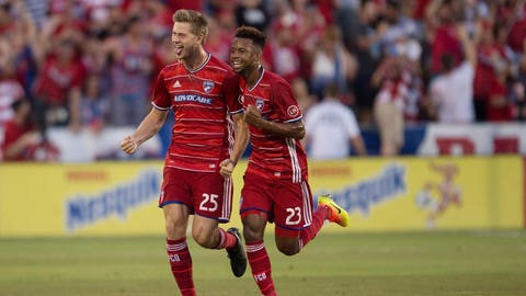 FC Dallas: Clinched and losing ground in the Supporters Shield race