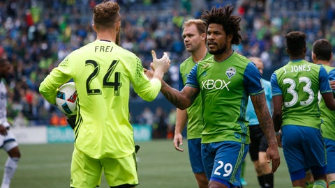 Roman Torres returns from injury