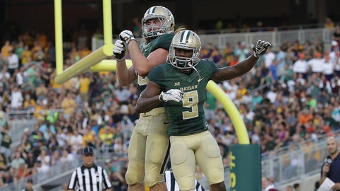 Baylor was also underrated at No. 24 in the preseason poll