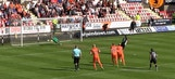 Dundee United keeper saves three penalties in one half