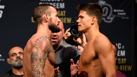 CM Punk vs. Mickey Gall