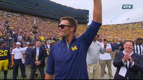Michigan: Tom Brady (Five-time Super Bowl-winning quarterback)