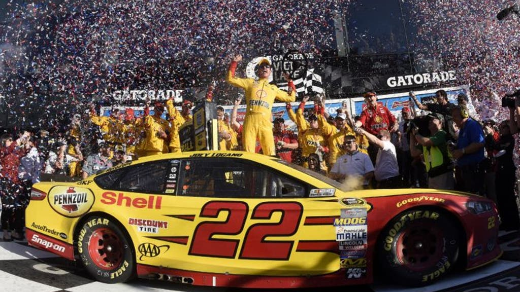 Check out career highlights of Talladega winner Joey Logano