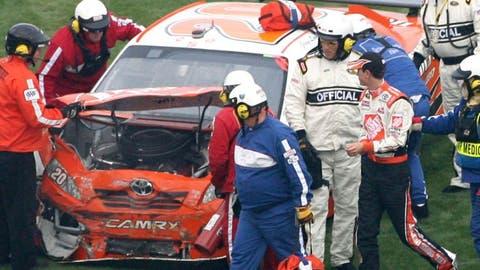 Daytona damage