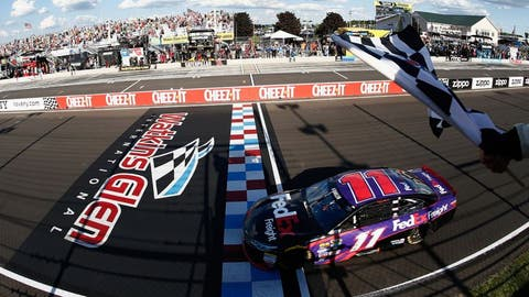 Denny Hamlin through the years