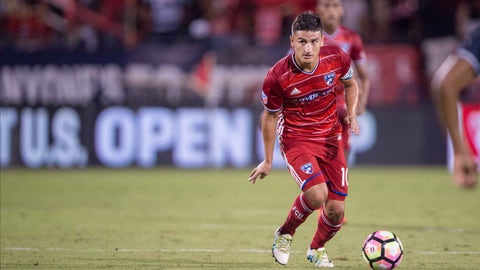 FC Dallas will struggle without Mauro Diaz