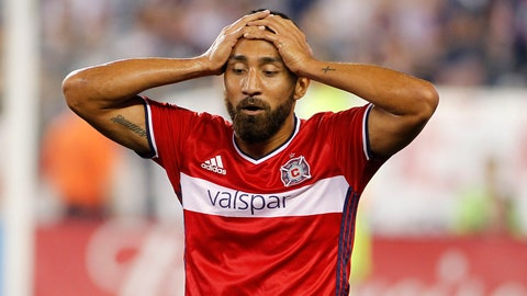 Chicago Fire: Eliminated for weeks now, close to clinching the Wooden Spoon