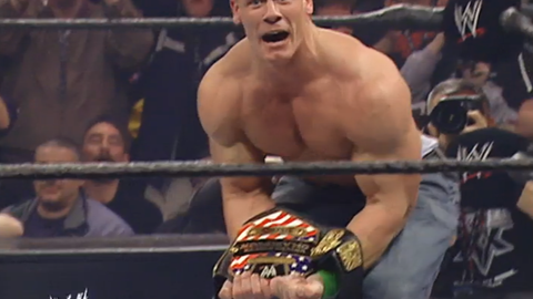 Doctor of Thuganomics John Cena had just won his very first WWE singles title