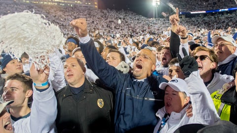 Can Penn State suddenly crash the playoff?