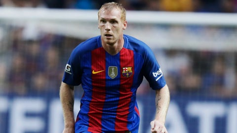 Jeremy Mathieu was emblematic of Barcelona's issues