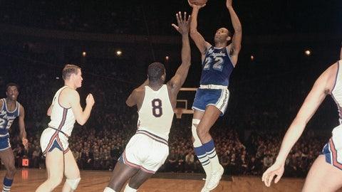 T8. Elgin Baylor, 71, Lakers @ Knicks (11/15/60)