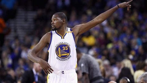 KD will start and finish aggressively, but fade in the middle
