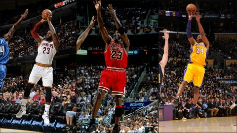 Can anyone topple Michael Jordan?