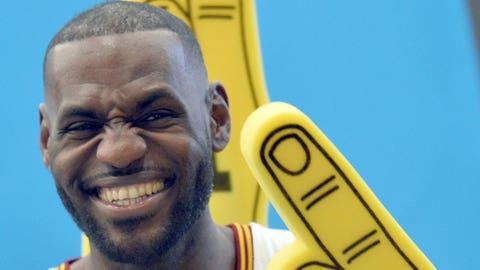 LeBron James (Philadelphia 76ers)