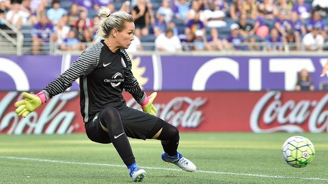 Goalkeeper of the Year: Ashlyn Harris, Orlando Pride