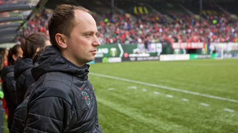 Coach of the Year: Mark Parsons, Portland Thorns