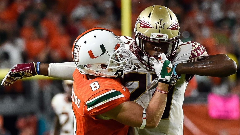 Miami's game at Florida State moved to Oct. 7