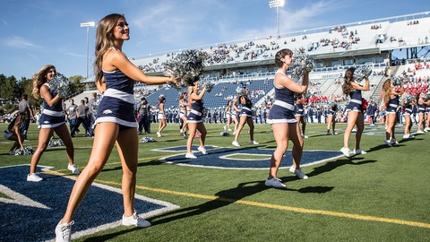 Nevada cheerleaders