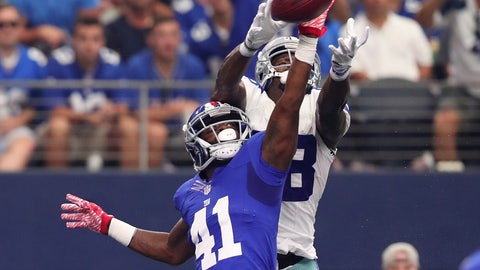 Falling: New York Giants CB Dominique Rodgers-Cromartie