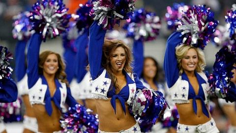 Cowboys cheerleaders