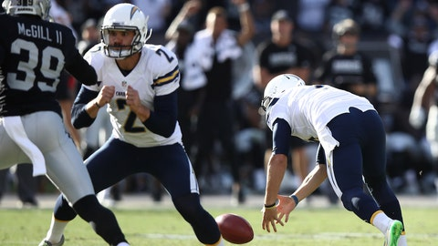 The Chargers find yet another way to blow it in the fourth quarter