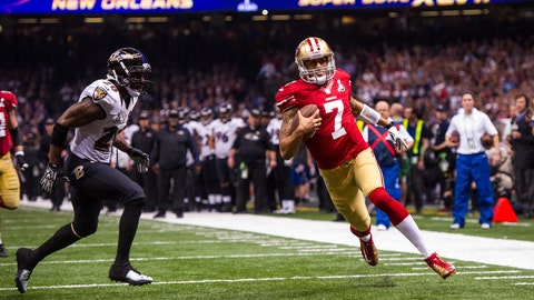 Longest TD run by a QB in a Super Bowl